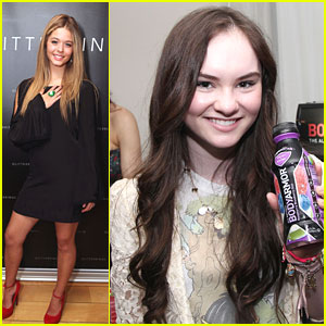 Sasha Pieterse &#038; Madeline Carroll: Style Lounge Ladies
