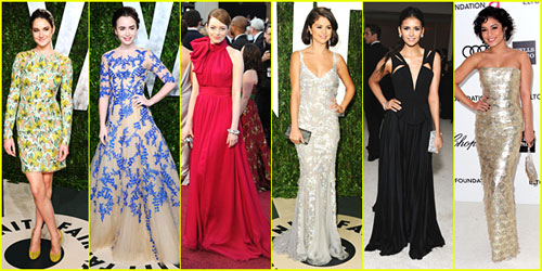 2012 Oscars &#038; Oscar Parties -- Best Dressed Poll!