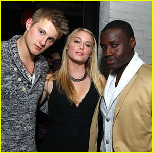 Alexander Ludwig: Nylon Party with Dayo Okeniyi
