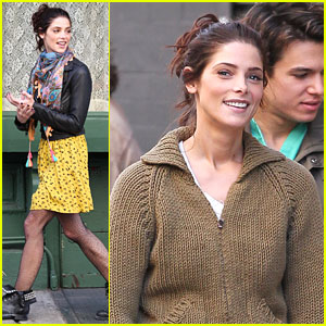Ashley Greene Starts Filming 'Americana'