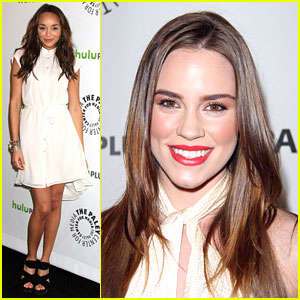 Ashley Madekwe & Christa B. Allen: PaleyFest Pair