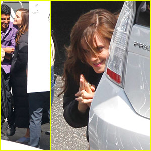 Emma Watson: Hide &#038; Seek On Set