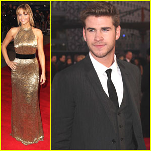 Jennifer Lawrence &#038; Liam Hemsworth: 'The Hunger Games' London Premiere!