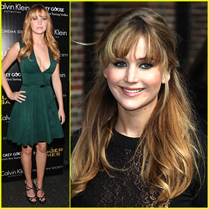 Jennifer Lawrence: 'The Hunger Games' in New York City!