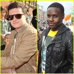 Josh Hutcherson & Dayo Okeniyi - Kids Choice Awards 2012