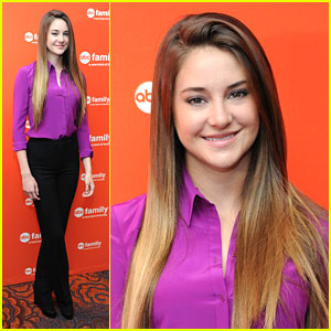 Shailene Woodley: ABC Family Upfronts 2012!