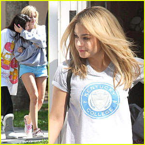 Vanessa Hudgens: Blonde for 'Spring Breakers'!