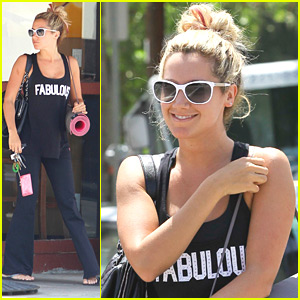 Ashley Tisdale is 'Fabulous'ly Fit