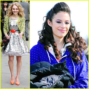 Chloe Bridges as Donna Ladonna in 'The Carrie Diaries' - First Look!