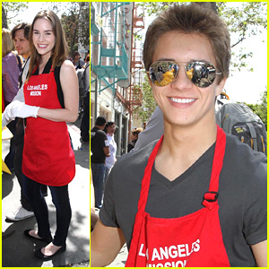 Billy Unger & Christa B. Allen: LA Mission Easter for the Homeless Benefit
