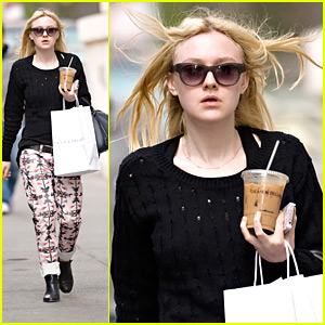 Dakota Fanning: Isabel Marant Tribal Pants!