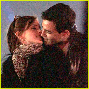 Emma Watson & Will Adamowicz: Coachella Kisses!