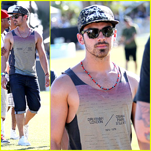 Joe Jonas: Coachella Weekend #2!