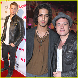 Josh Hutcherson &#038; Avan Jogia: Nylon Night!