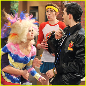 Olivia Holt: Colorful Clown Hair on Kickin' It!