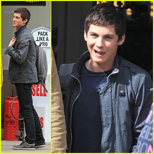 Logan Lerman: Nathan Fillion Wraps 'Percy Jackson'