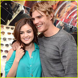 Chris Zylka And Lucy Hale Engaged