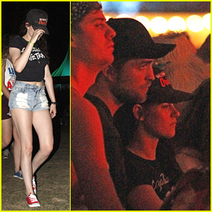 Kristen Stewart & Robert Pattinson Close Out Coachella