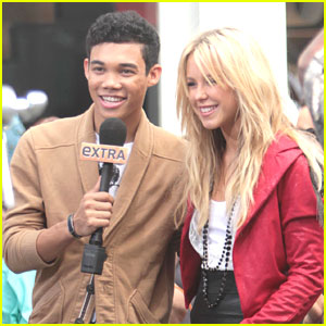 Roshon Fegan: Extra! with Chelsie Hightower!