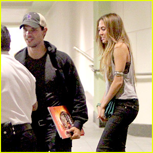 Taylor Lautner: Cirque du Soleil with Sara Hicks