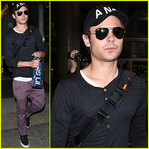 Zac Efron: Back In Los Angeles!