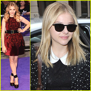 Chloe Moretz: 'Dark Shadows' Premiere in London