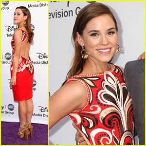 Christa B. Allen: Disney International Upfronts!