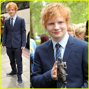 Ed Sheeran: Ivor Novello Awards Winner!