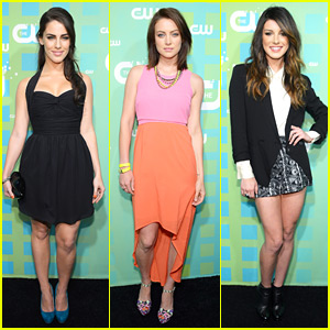 Shenae Grimes, Jessica Lowndes &#038; Jessica Stroup: CW Upfronts!