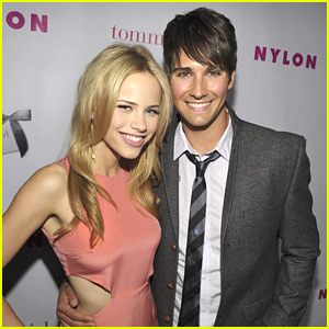 James Maslow: Happy Birthday Halston Sage!