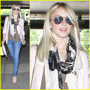 Julianne Hough: LAX Arrival