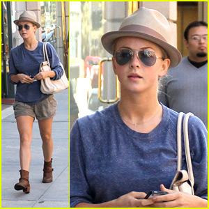 Julianne Hough Finds A 'Safe Haven'