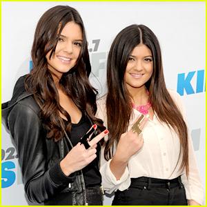 Kendall & Kylie Jenner: Gun Rings at Wango Tango