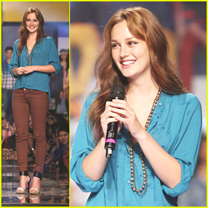 Leighton Meester: Phillippine Fashion Week 2012