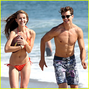 Nathalia Ramos: Beach Day with Pierson Fode
