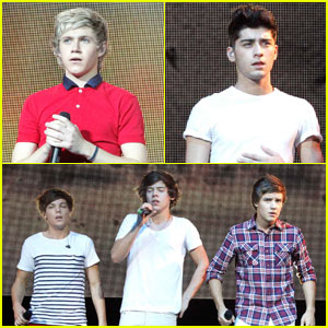 One Direction's Summer Concert Tour Continues!