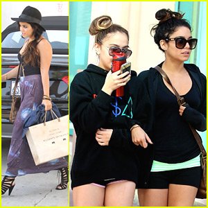 Vanessa Hudgens &#038; Stella: Gym Junkies