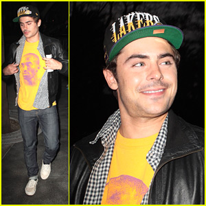 Zac Efron: Laker Pride!