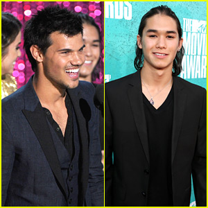 Taylor Lautner & Booboo Stewart: MTV Movie Awards 2012