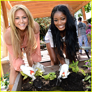 Keke Palmer & Cassie Scerbo: HOLA at Heart Helpers