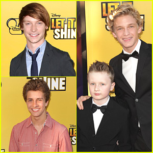 Cody Simpson & Calum Worthy: 'Let It Shine' Premiere