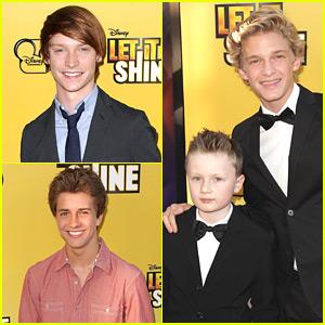 Cody Simpson & Calum Worthy: 'Let It Shine' Premiere