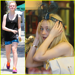 Dakota Fanning: Vintage Shopper