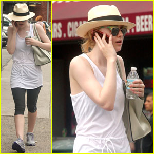Dakota Fanning: Gym Rat