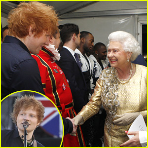 Ed Sheeran Meets The Queen!