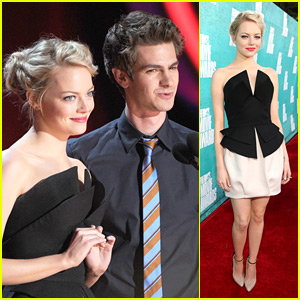 Emma Stone &#038; Andrew Garfield - MTV Movie Awards 2012