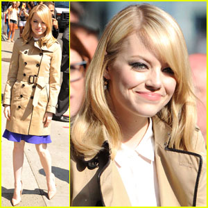 Emma Stone: 'Late Show' Smiles