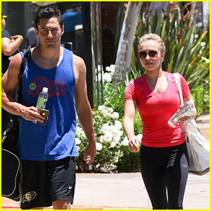 Hayden Panettiere: Gym Day!