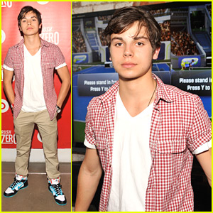 Jake T. Austin: (RED) Rush To Zero Campaign Launch!