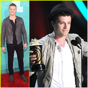 Josh Hutcherson: Double Wins at MTV Movie Awards 2012!